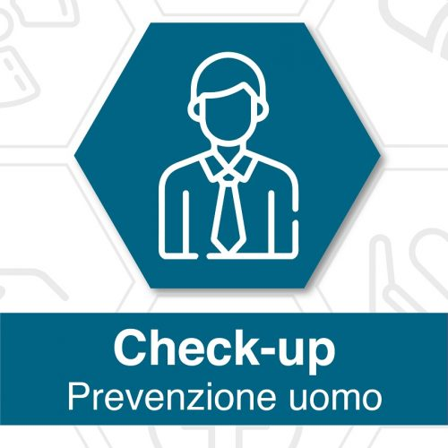 Foto locandina check up prevenzione uomo