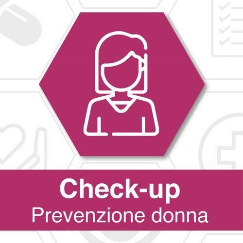 Foto locandina check up prevenzione donna