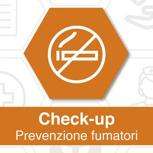 Foto locandina check up prevenzione fumatori